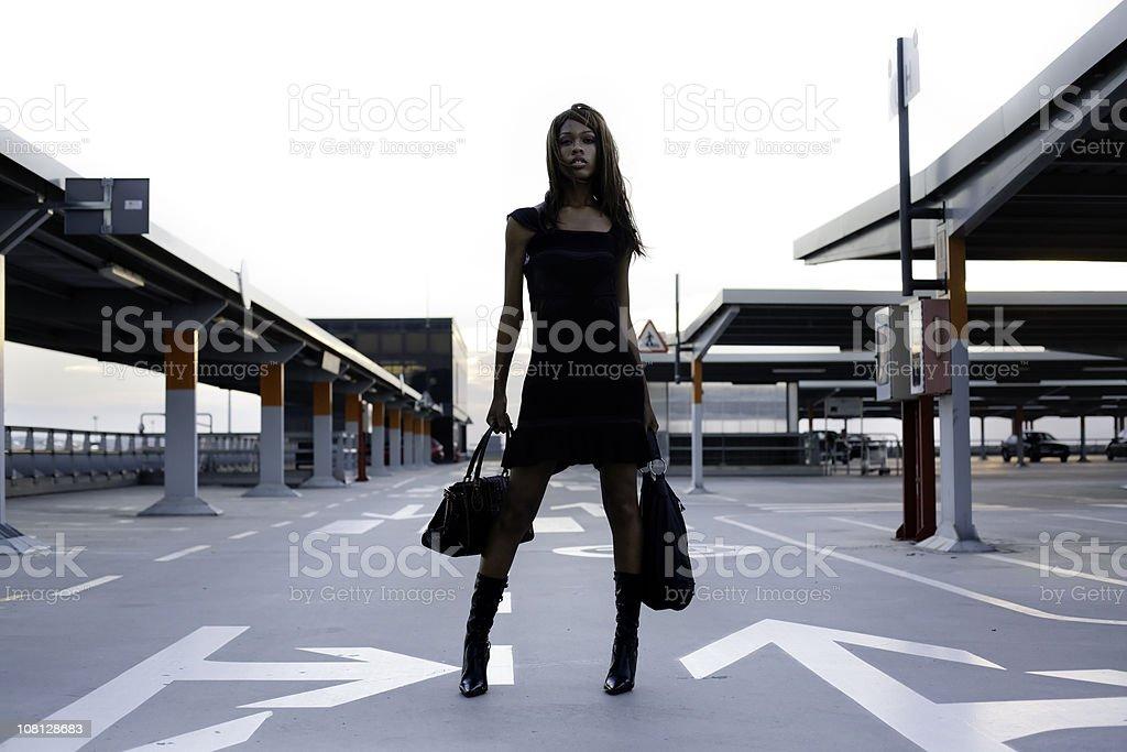 Urban beauty stock photo