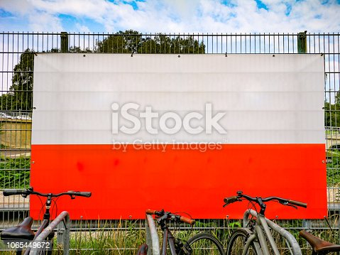 istock Urban blank empty advert space 1065449672