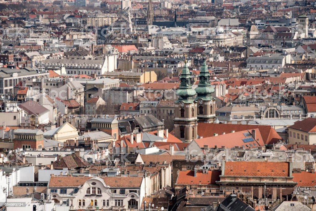Urban Budapest, Hungary City stock photo