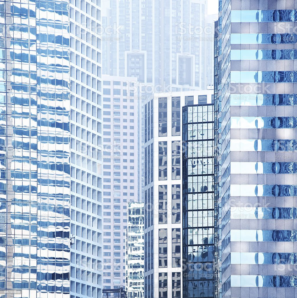 Urban buildings background royalty-free stock photo