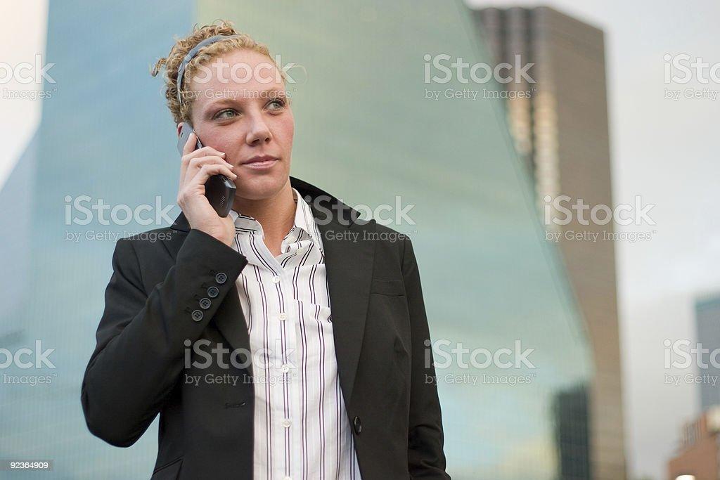 Urban Business Woman 2 royalty-free stock photo