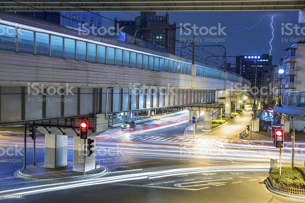 urban busy transport royalty-free stock photo