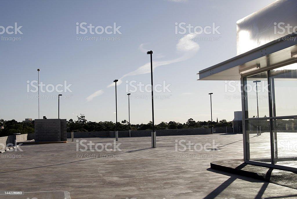Urban Carpark royalty-free stock photo