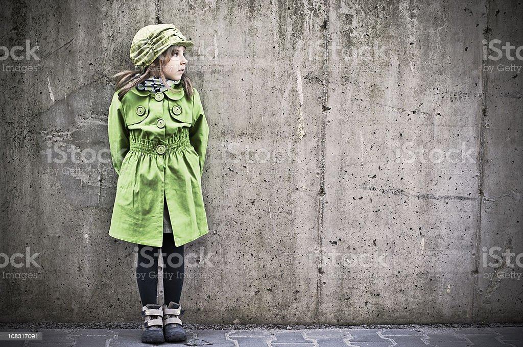 Urban child royalty-free stock photo