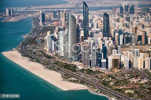 517465184 istock photo Urban city area in Abu Dhabi 519123164