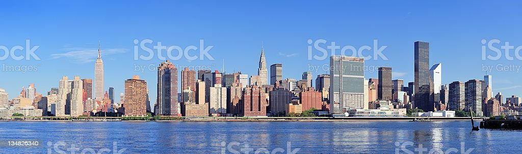 Urban city skyline royalty-free stock photo