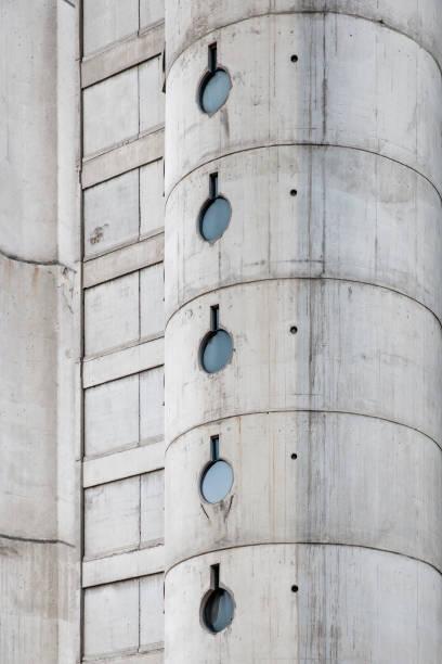 Urban concrete building stock photo