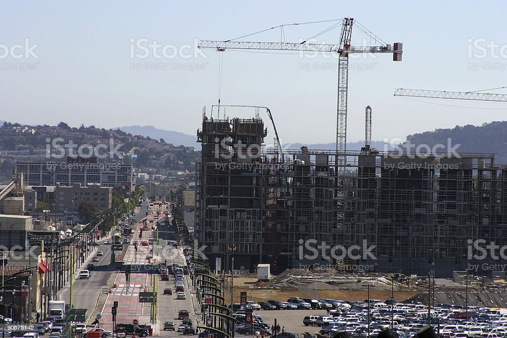 Urban Construction stock photo