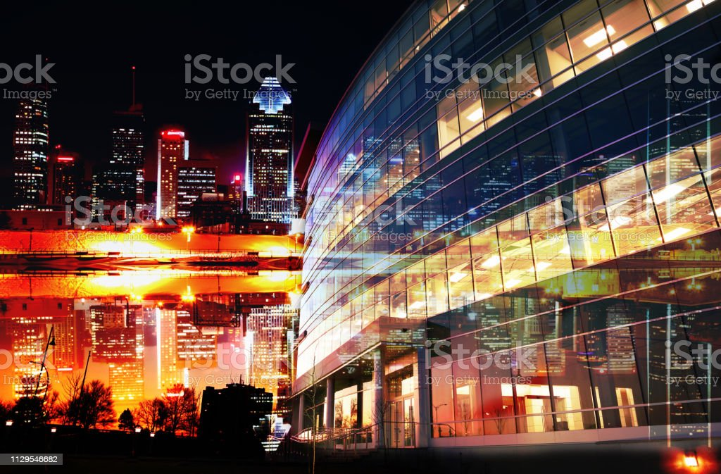 Urban Corporate Offices stock photo