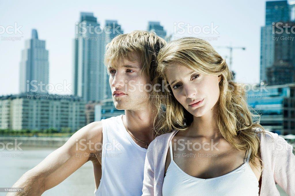 Urban Couple royalty-free stock photo