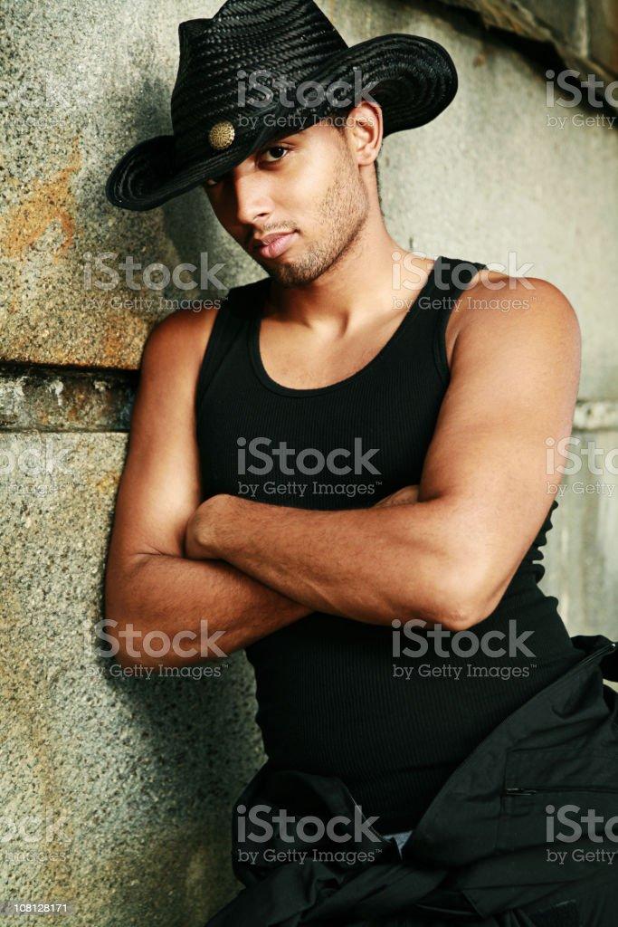 Urban Cowboy royalty-free stock photo