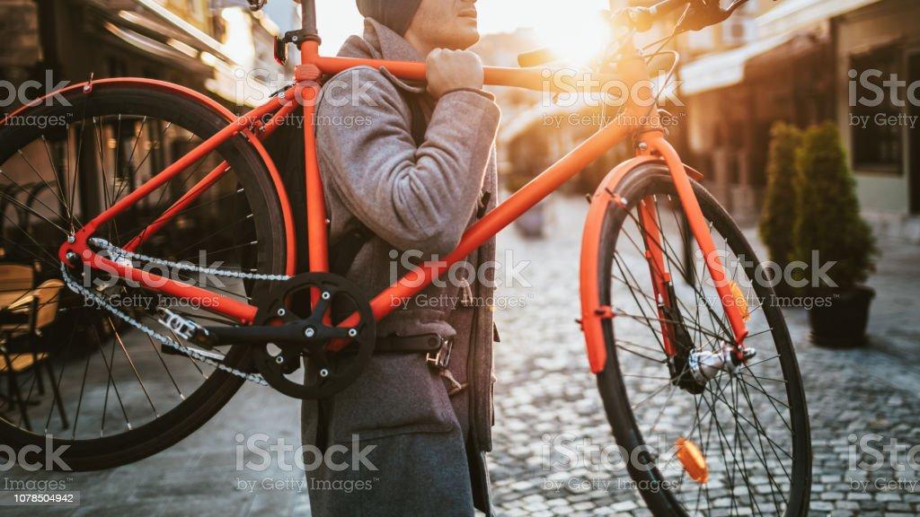 Urbane Radfahrer – Foto