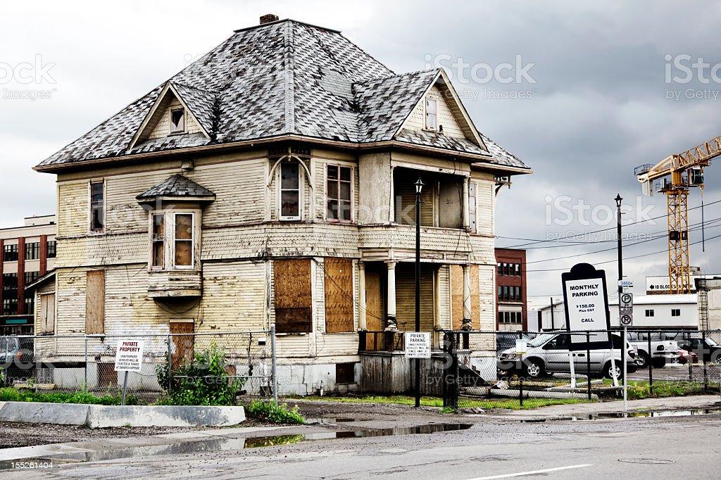 Decadência urbana & renovação - foto de acervo