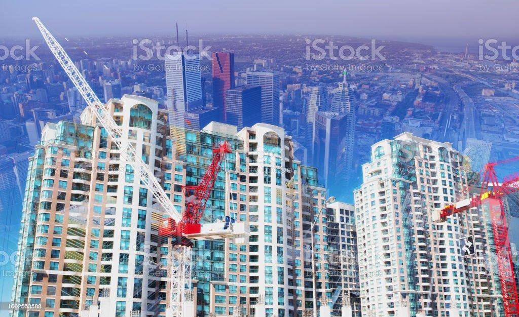 Urban Development royalty-free stock photo