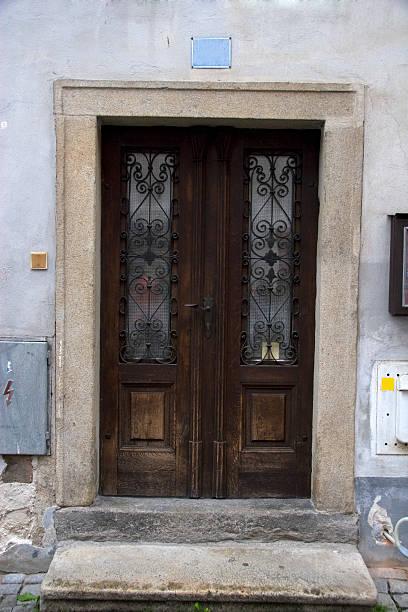 Urban Door stock photo