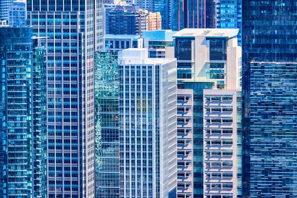immeuble centre-ville urbain backgroud - lieu générique photos et images de collection