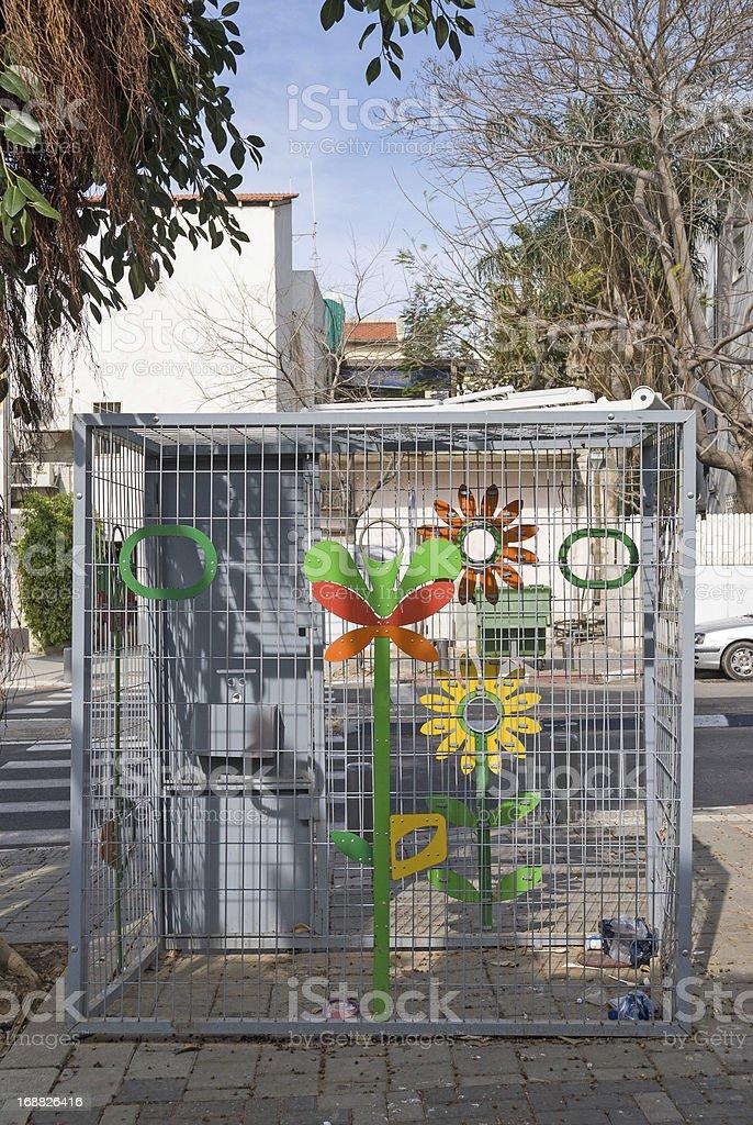 Urban equipment stock photo