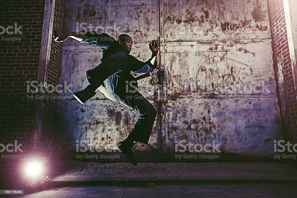 urban fighter royalty-free stock photo