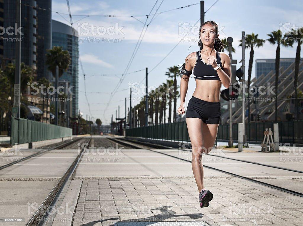 Urban Fitness royalty-free stock photo