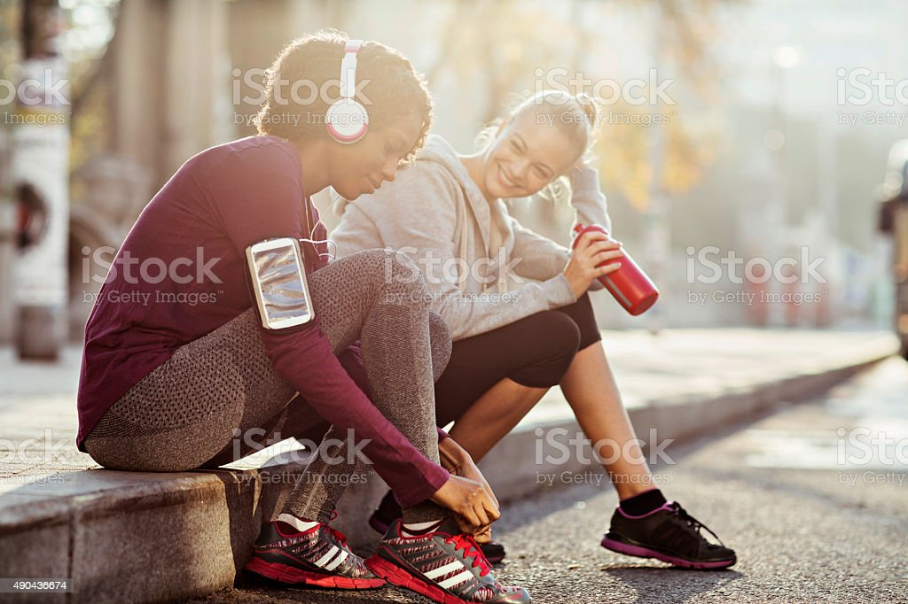 Urban fitness royalty-free stock photo