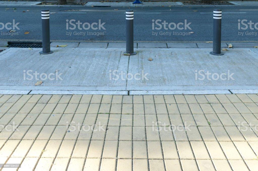 Urban furniture. stock photo
