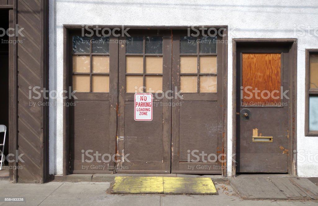 Urban Garage Door Stock Photo More Pictures Of Aging Process Istock