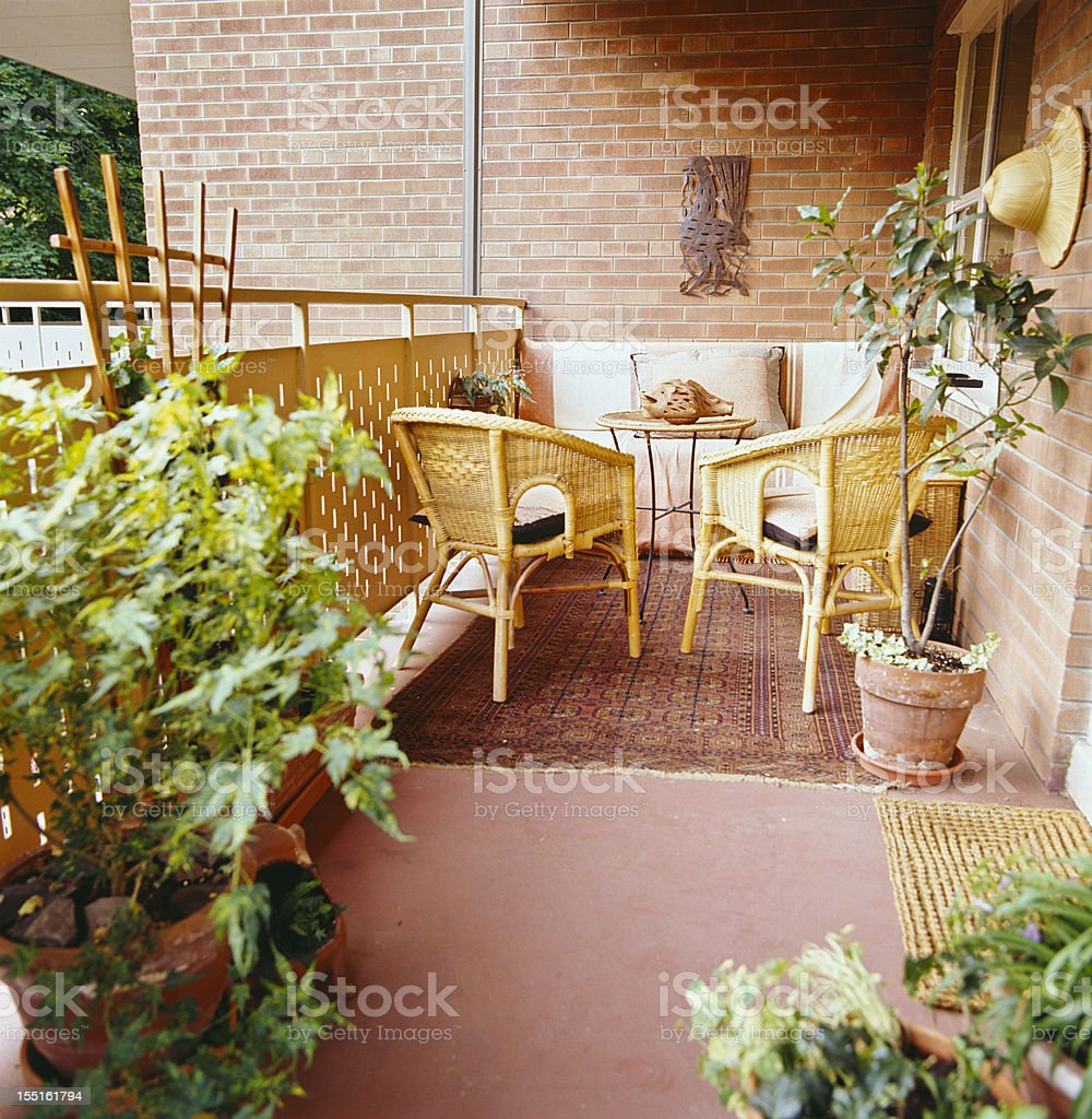 Urban Garden royalty-free stock photo