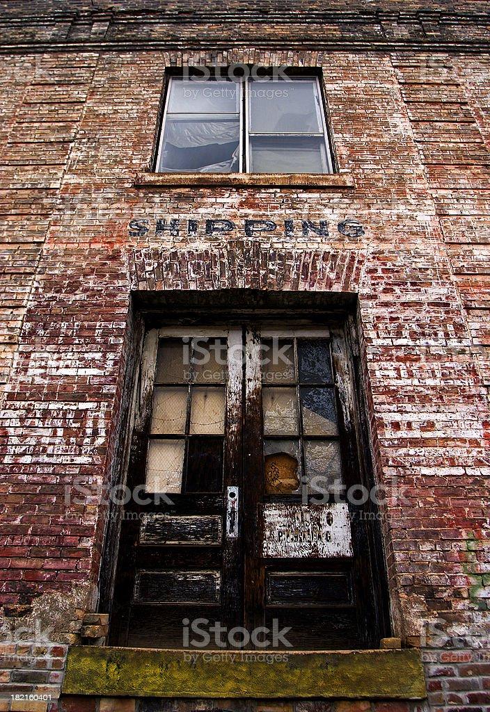 Urban Grunge Perspective stock photo