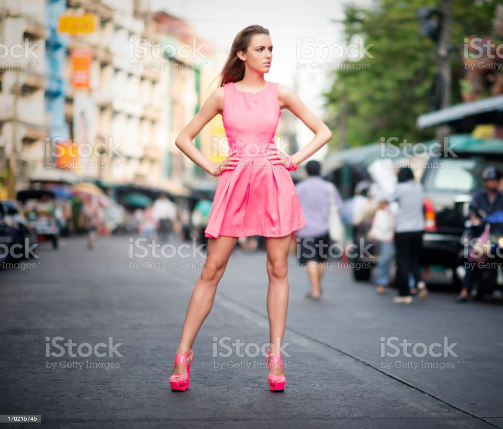 Urban Haute Couture royalty-free stock photo