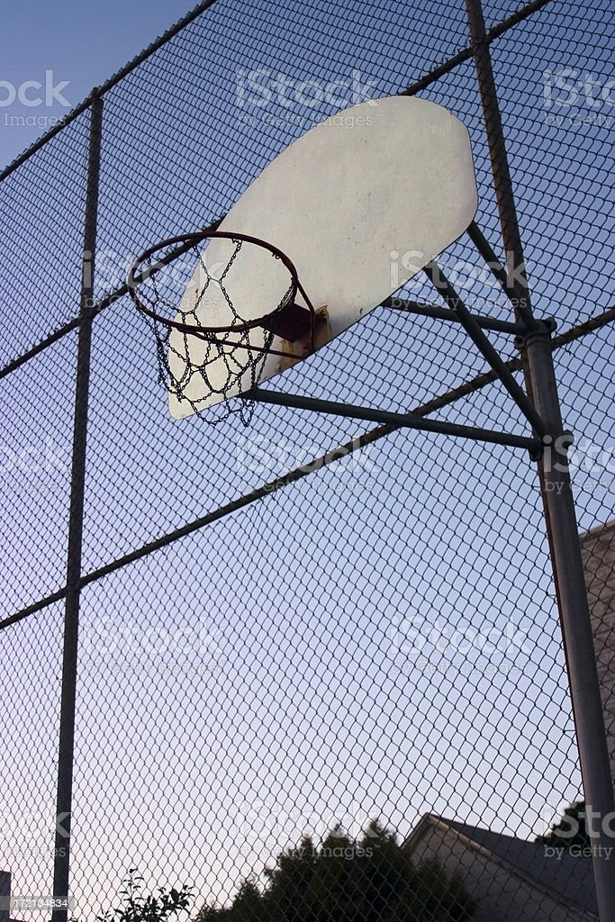 Urban hoops stock photo
