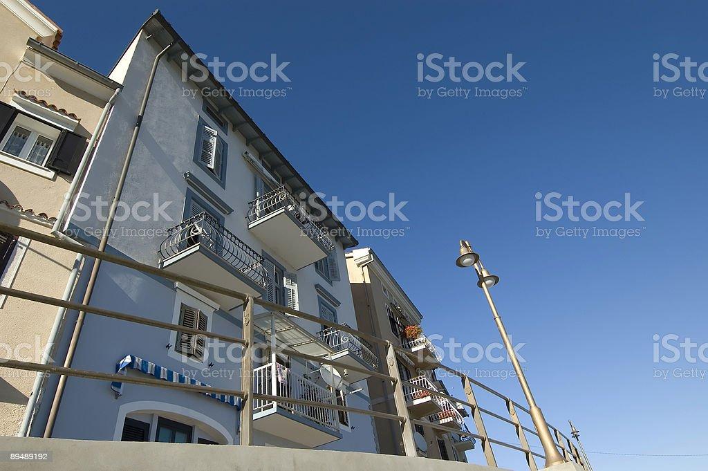Urban Housing in Croatia stock photo