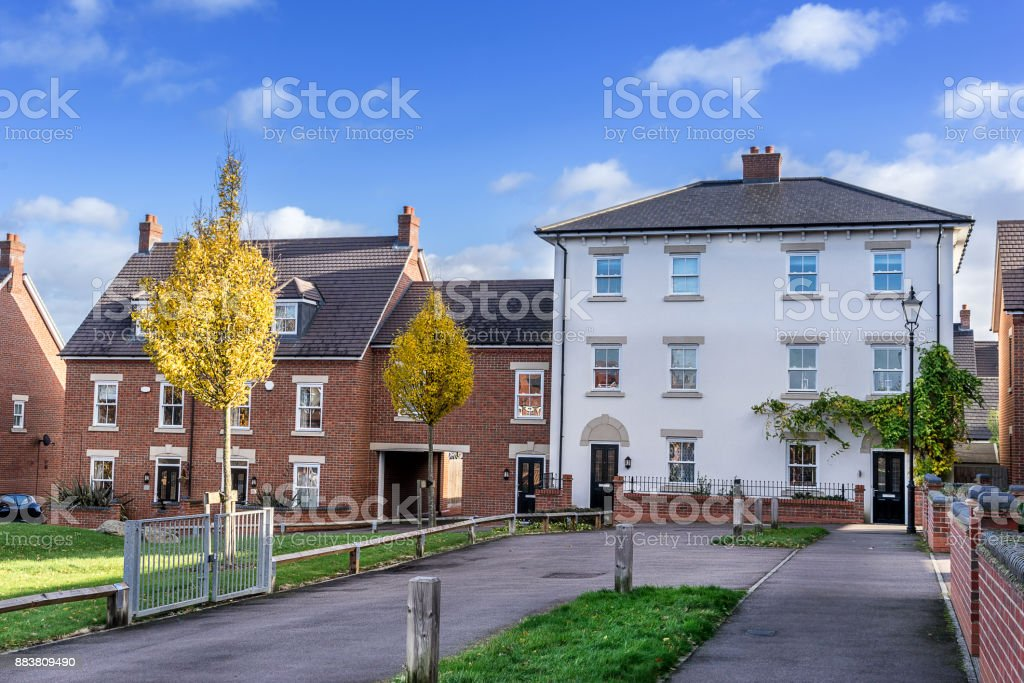 Urban Housing in the UK stock photo
