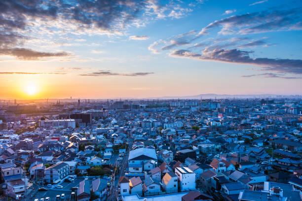 日本の都市景観 - 街 日本 ストックフォトと画像