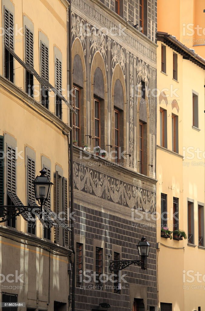 Urban landscape of Florence stock photo