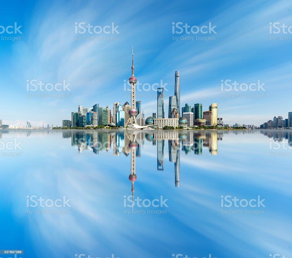 Urban landscape of Shanghai stock photo