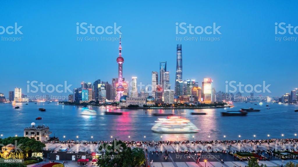 Urban landscape of Shanghai 免版稅 stock photo