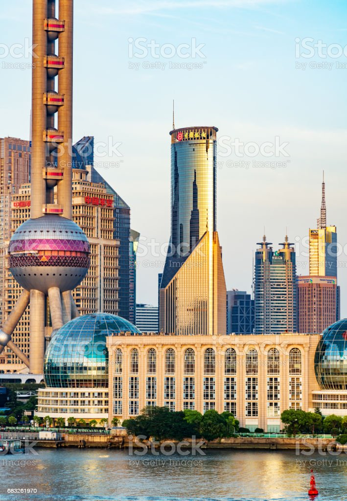 Urban landscape of Shanghai foto de stock royalty-free
