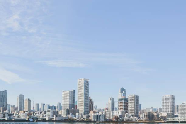東京の都会の景観 ストックフォト