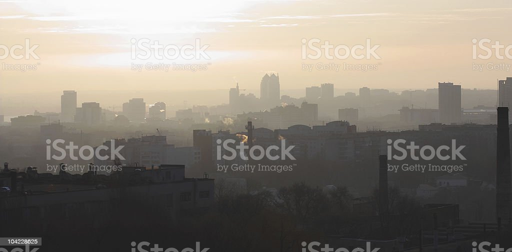 Urban landscape royalty-free stock photo