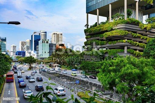 istock Urban life in Singapore 946902168