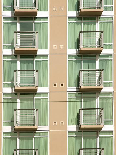 Urbanes Wohnen Hintergrund – Foto