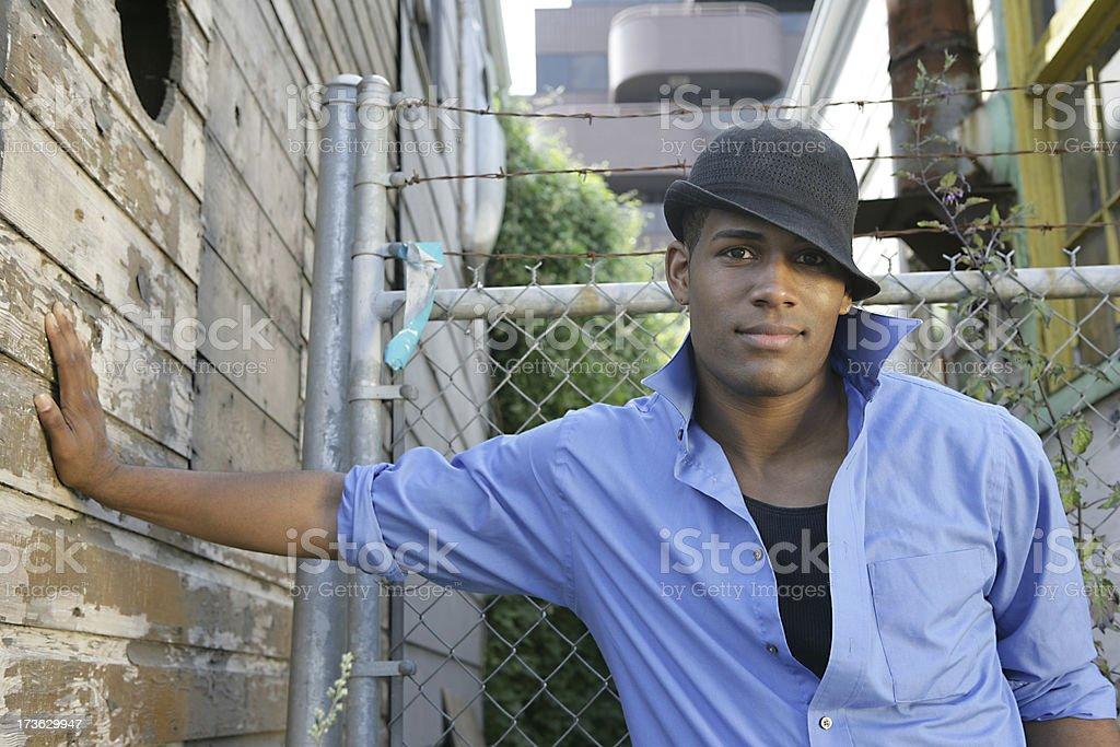 Urban Male royalty-free stock photo