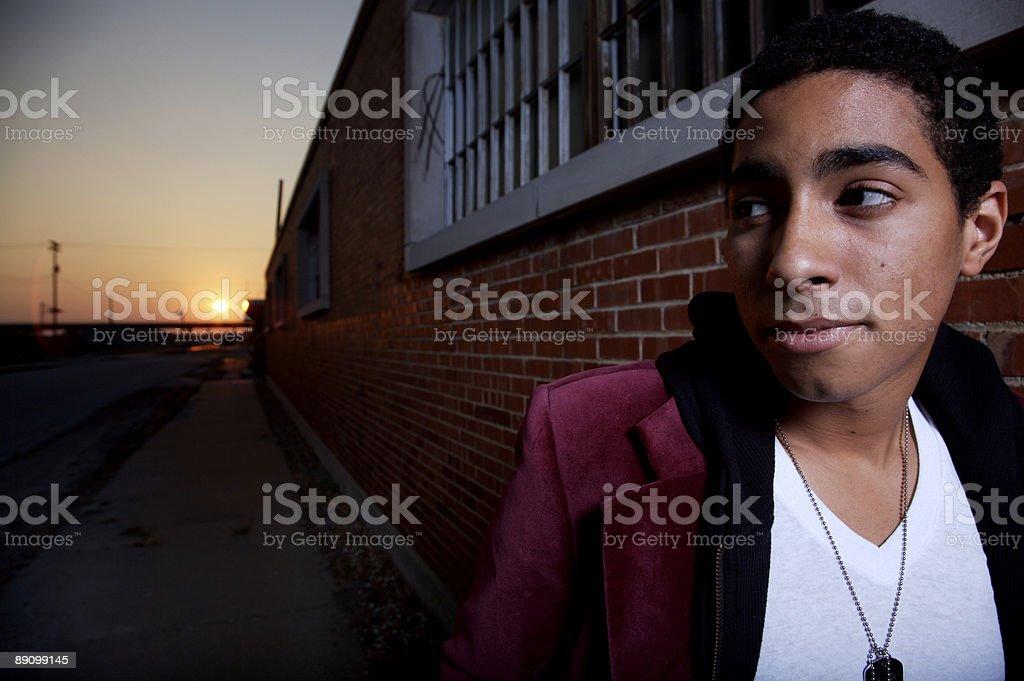 urban male portraits royalty-free stock photo