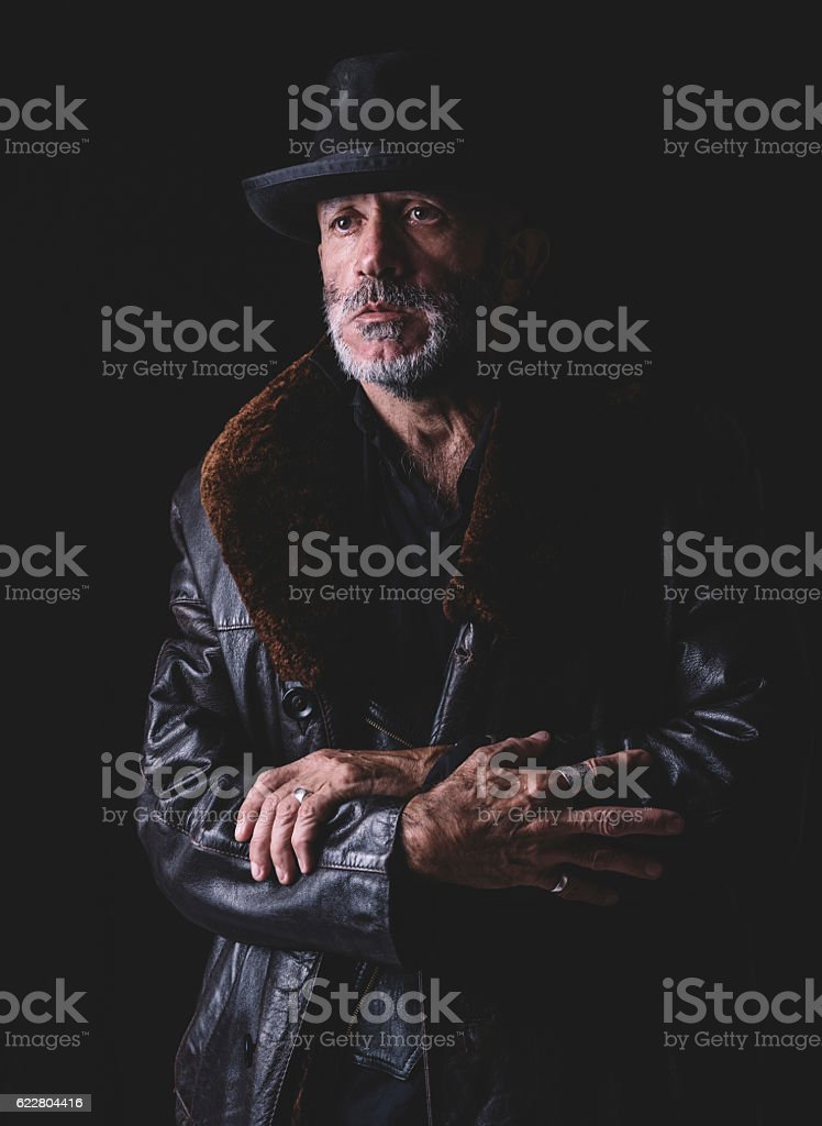 Urban man portrait - foto de acervo