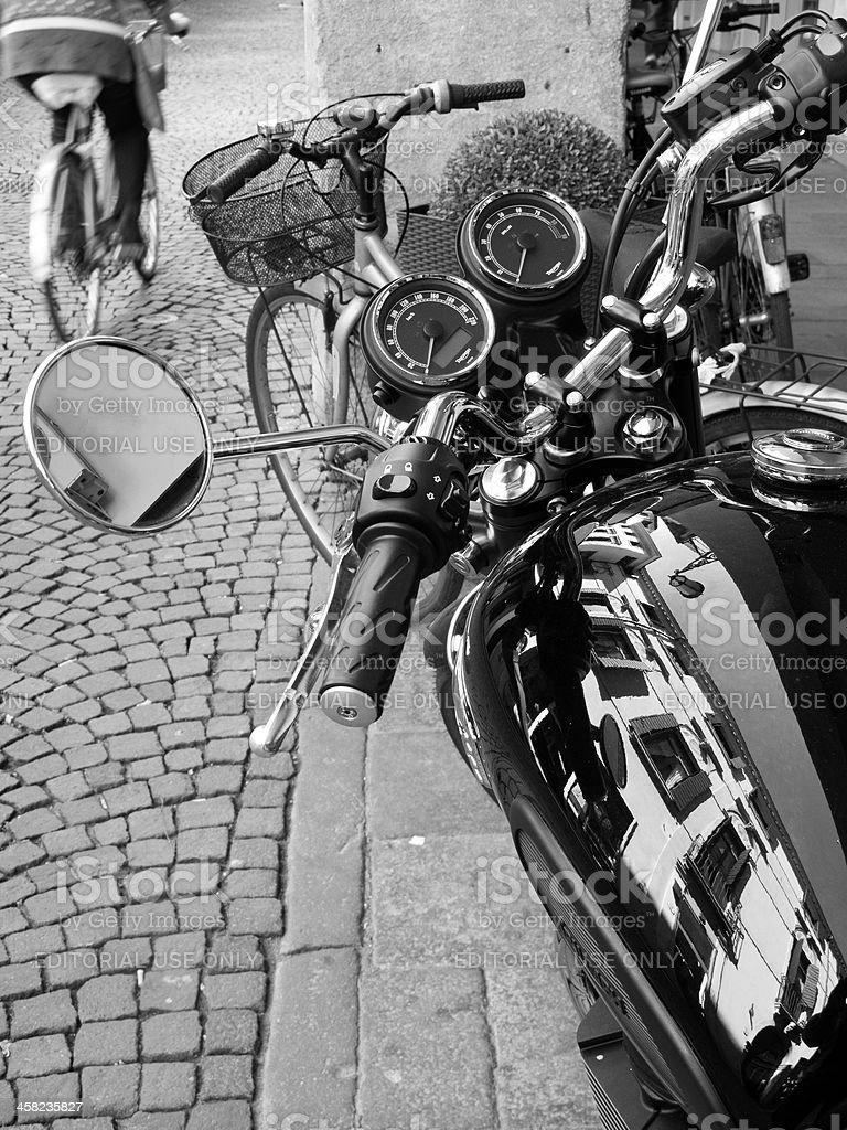 Urban mobility royalty-free stock photo