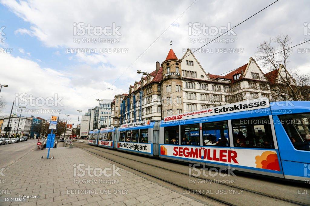 Urban . Munich stock photo