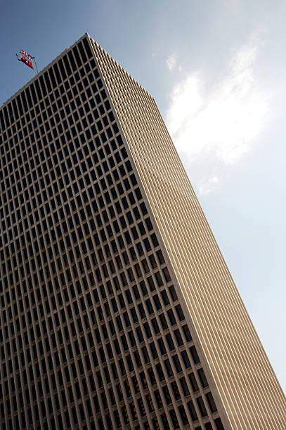 Urban Nashville structures skyscraper stock photo