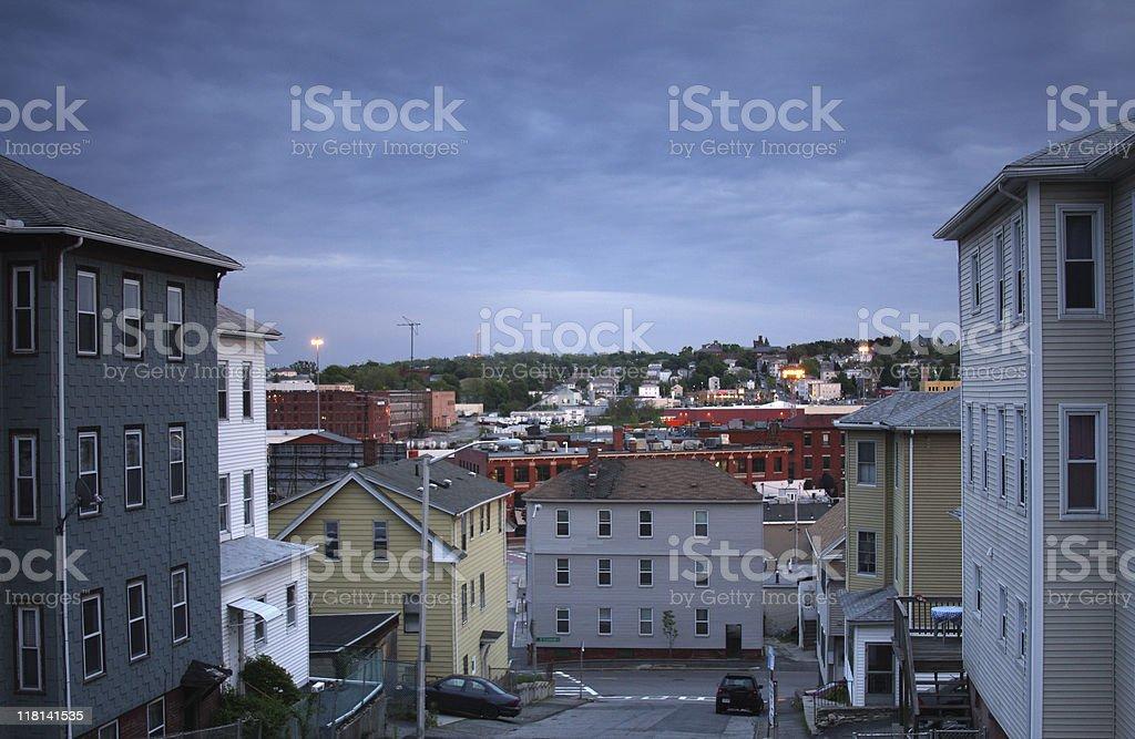 Urban Nieghborhood royalty-free stock photo