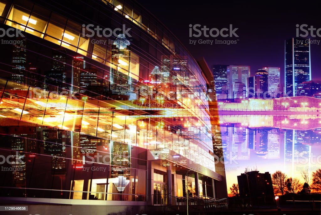 Urban Office Building stock photo