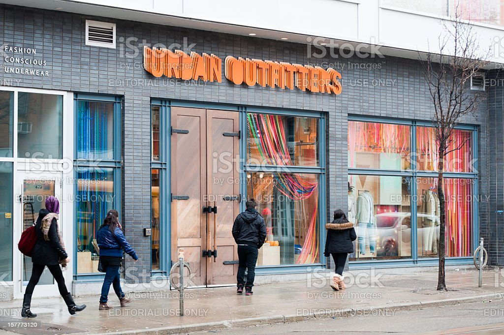 Urban Outfitters royalty-free stock photo